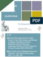 Fracture Clavicule DIU 2015