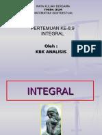 Matematika Integral