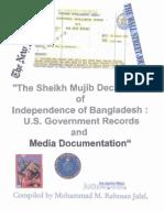 Bangladesh Formation Documents