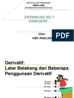 Matematika Derivatif