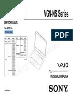 Vgn Ns100 Series
