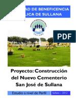 Proyecto Nuevo Cementerio Sullana_2012