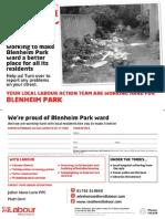 Blenheim Park Working Here Jan 2015
