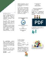 Brochure de El Comercio