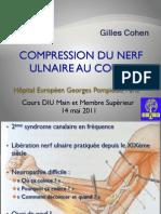 3-6 Compression Du Nerf Ulnaire Au Coude (Dr Cohen)