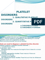 Kuliah Platelets Disorders