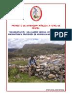 Pip Rehabilitacion Huancasancos - Ancaraypampa[1]