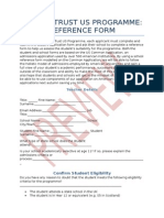 Reference Form Preview - US Programme 2015