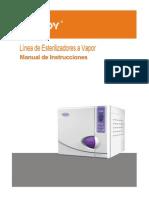 Autoclave Youjoy de 17 y 22 Ltrs en Español Manual