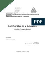 Analisis Del Modulo Informatica. CIPPSV