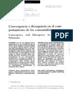 Divergencia y Convergencia