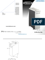 Fellowes Powershred C-120 Commercial Shredder -  34120