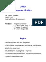 CH307 Kinetics
