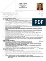 sarah roth resume