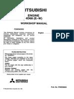 Pwee9609 Engine 4d68 E-w Wm