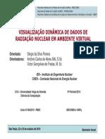 Apresentação - Visualização Dinâmica de Dados de Radiação Nuclear Em Ambiente Virtual