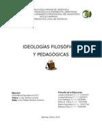 Ideas Filosóficas y Pedagógicas