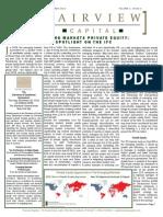 Quarterly Newsletter 2010 September