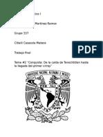 Historia de México. Conquista