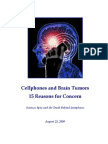 Cellphones and Brain Tumors - 15 Reasons-For-Concern - Science, Spin and the Truth Behind Interphone
