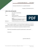 Informe 12 MDA