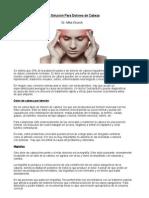 Quiropractico Puyallup- La Solucion Para Dolores de Cabeza