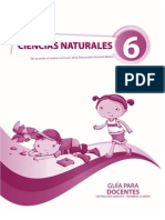 Guia Del Docente Naturales 6to Egb