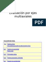 Evaluaciòn por ejes multiaxiales