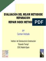 Metodo de Optimizacion Reparacion-Andrade
