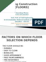 Floors Building construction materials