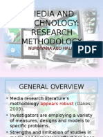 Media Effects Research Methodology