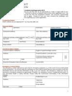 UKSI Application Form 2015
