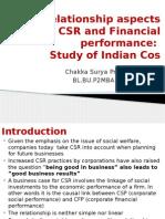 CSR vs FP Paper Chakka