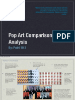 pop art comparison