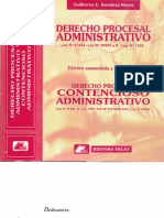 Derecho Procesal Administrativo y Contencioso Administrativo - Guillermo e. Bendezú Neyra