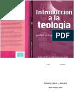 Libanio Jb Introduccion a La Teologia PDF