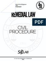 Up 2013 Civil Procedure