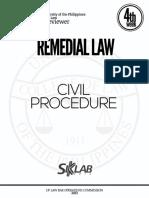 Up 2013 Civil Procedure