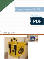 Tema 3 y 4 Transporte UDP TCPv1