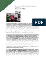 Privatizacion de La Educacion en Argentina
