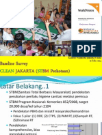 Pemaparan Hasil Baseline Survey CLEAN Jakarta-WVI Di Jakarta Utara