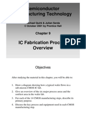 IC manufacturing SMT Process Flow | Semiconductor Device