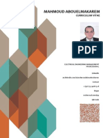 Mahmoud Abouel Makarem CV