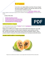The Health Benefits of Papaya.doc
