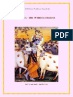Ahimsa-The Supreme Dharma