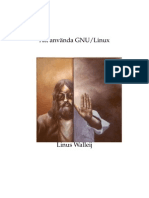 Att Använda GNU/Linux