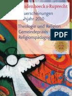 Vorschau 1 / 2010 Theologie