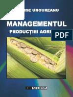 Managementul productiei agricole