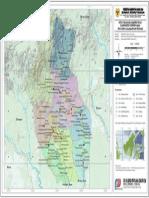 Peta Wilayah Administrasi Kabupaten Gunung Mas Provinsi Kalimantan Tengah