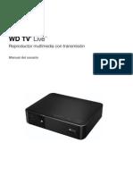 WD TV Live Manual del usuario